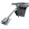 Este echipat standard cu mitra telescopica (cu lungimea de 1230 - 2260 mm)
