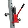 Cilindrii hidraulici manuali sunt dotati cu bolturi pentru ajustarea pozitiei