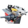 Aceasta masina de tamplarie este echipata cu masa culisanta ce permite formatizarea pieselor mici