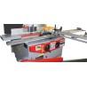 Aceasta masina tamplarie este echipata cu masa de formatizat