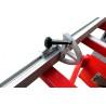Mitra telescopica este echipata cu limitator piesa de prelucrat