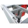Mitra telescopica este dotata cu scala de precizie cu lupa pentru realizarea de reglaje fine