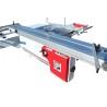 Acest fierastrau lemn este prevazut cu suport robust prelungit pe lungimea saniei de formatizat