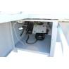 Acest fierastrau este prevazut cu unitate incizoare cu motor independent (0,75 kW)