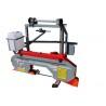 Constructia compacta asigura depozitarea si transportul facil al acestui fierastrau