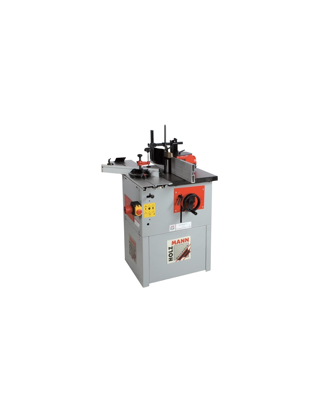 Masina pentru frezat cu masa de formatizat Holzmann FS 160L - 230 V