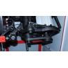 Este prevazuta cu 4 trepte de turatie de la 1800 rpm pana la 9000 rpm