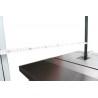 Masa de lucru supradimensionata permite prelucrarea de latimi de pana la 800 mm