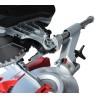 Include dispozitiv de fixare a ghidajului coloanei pentru transportul in conditii de siguranta