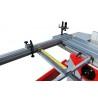 Masa de formatizat este prevazuta cu mitra telescopica cu limitatoare material