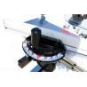 Mitra unghiulara poate fi ajustata cu ajutorul unei scale de precizie