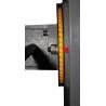 Inclinarea unitatii de mortezare se realizeaza cu ajutorul unei scale de precizie