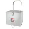 Aceasta masina pentru aplicat cant este livrata standard cu o cutie metalica ideala pentru transport si depozitare