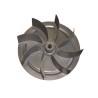 Ventilatorul cu lame aerodinamice din otel asigura un debit mare de aer
