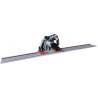 Poate fi echipat cu ghidaj optional FS 1500 cu lungimea de 1500 mm