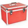 Este livrat intr-o cutie din aluminiu ideala pentru transport si depozitare