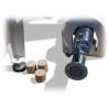 Este ideala pentru realizarea brichetelor cu lungime maxima de 50 mm si diametru de 70 mm
