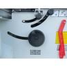 Reglarea panzei pe inaltime si la unghi se realizeaza cu ajutorul unei manivele cu scala
