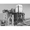 Rezervorul pentru lichid de racire asigura lubrifierea optima a panzei panglica