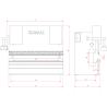 Abkant hidraulic Elmali EHAP 4 X 3100