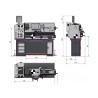 Strung universal Optimum TH 3390V - schita dimensiuni