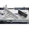 Limitatoarele sunt ajustabile ce permit pozitionarea materialului de taiat in diferite unghiuri