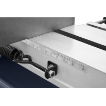 Limitatorul permite pozitionarea materialului de taiat la unghiuri intre 0° - 45°