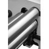 La masina de roluit rola din spate permite reglarea individuala facilitand roluirea de piese conice