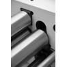 Rola posterioara este prevazuta cu caneluri ce permit realizarea operatiunilor de roluire a sarmei