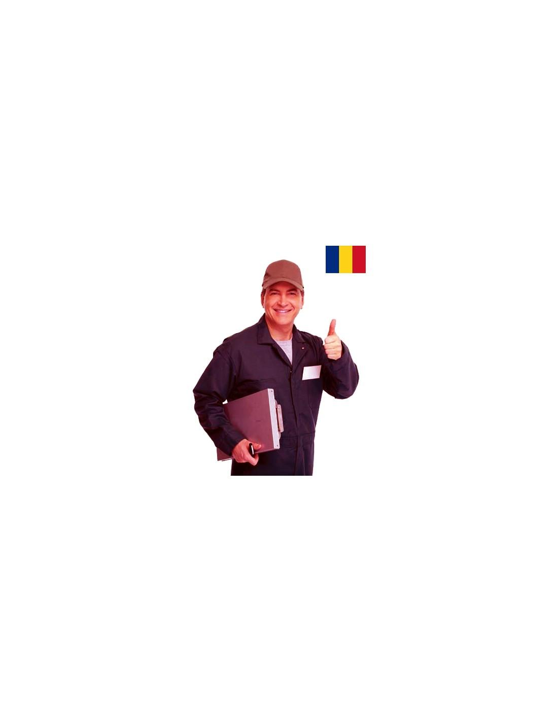 Punere in functiune echipa Romania