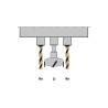 Dotat standard cu unitate de gaurire cu 3 axe