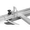 Toate piesele din aluminiu (masa de formatizat, limitatoare, paralele etc.) sunt anodizate