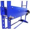 Inaltimea mesei poate fi ajustata cu ajutorul cilindrului hidraulic