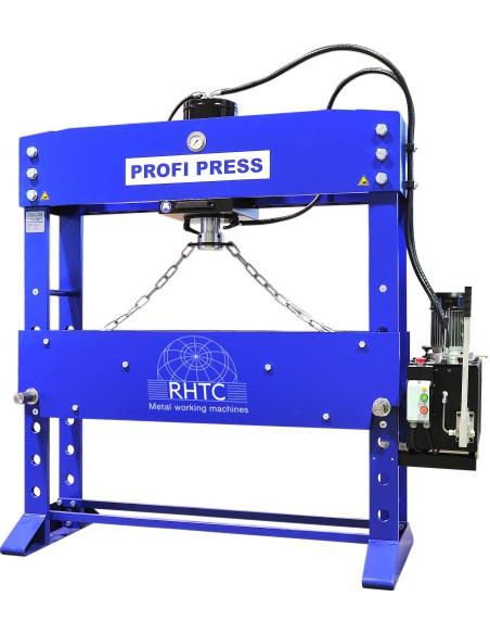 Presa de atelier hidraulica motorizata RHTC 100 TON M/H-M/C-2 D1500mm