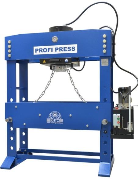 Presa de atelier hidraulica motorizata RHTC 200 TON M/H-M/C-2 D1300mm