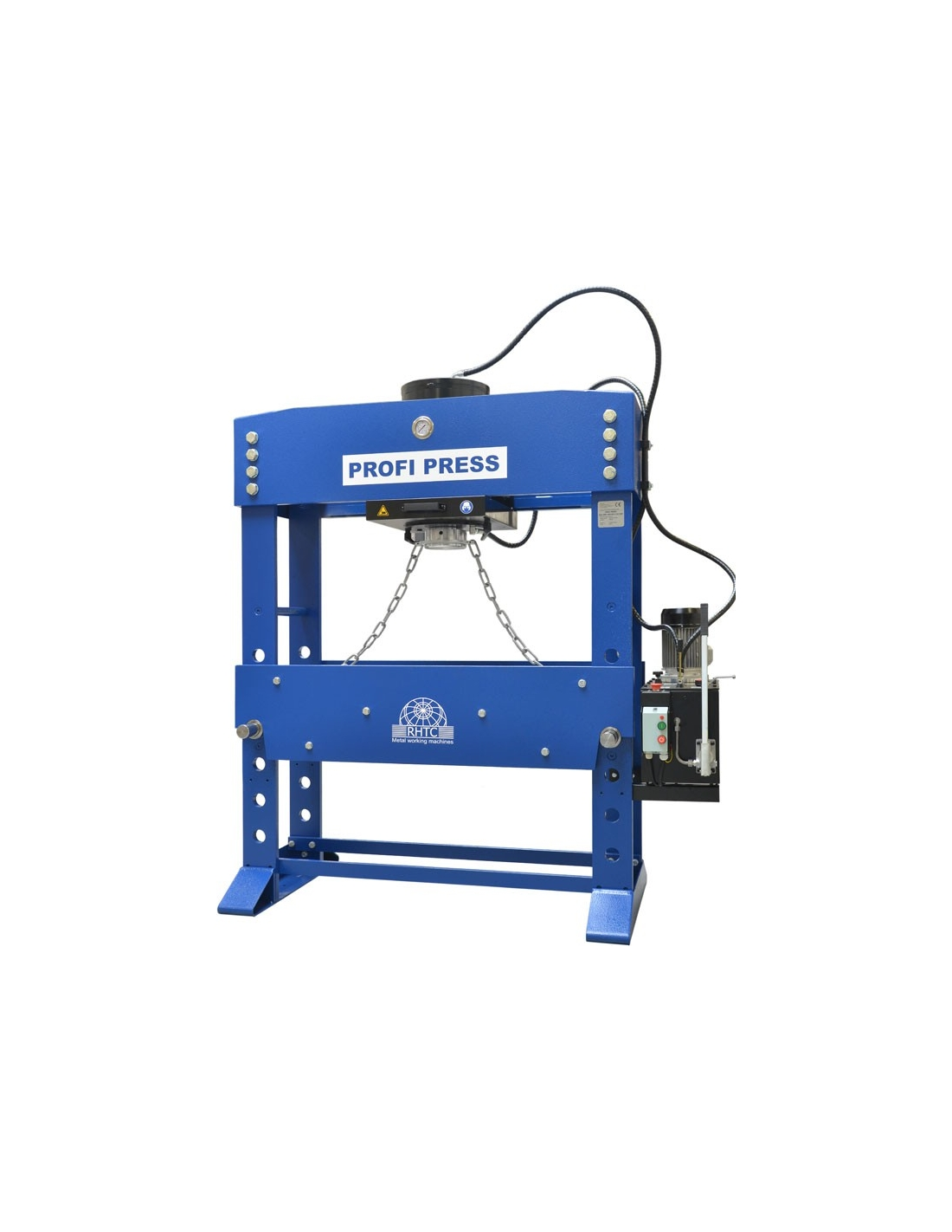 Presa de atelier hidraulica motorizata RHTC 200 TON M/H-M/C-2