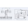 Presa hidraulica pentru indreptare RHTC TL-150 - schita dimensiuni