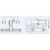 Presa hidraulica pentru indreptare RHTC TL-220 - schita dimensiuni