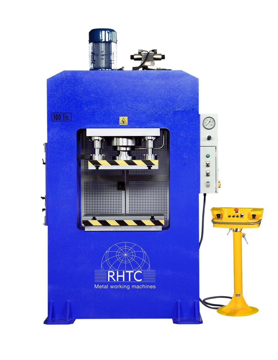 Presa hidraulica cu cadru arc RHTC RM-150