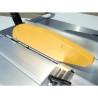 Masa de formatizat culiseaza pe un ghidaj prismatic calit cu latimea de 360 mm