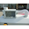Aceasta masian de cant poate fi racordata la o instalatie de exhaustare