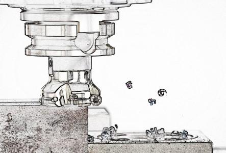 Masini frezat cu batiu – operare