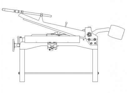 Foarfeca tabla – operare si ajustari