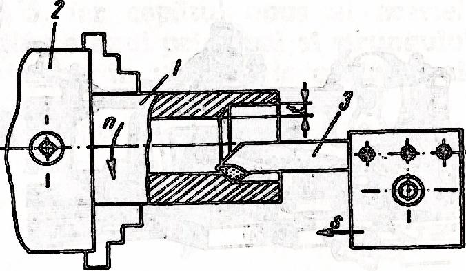 strung metal - prelucrarea suprafetelor cilindrice interioare