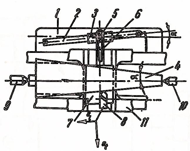 strung metal - prelucrarea suprafetelor conice cu ajutorul riglei de copiat