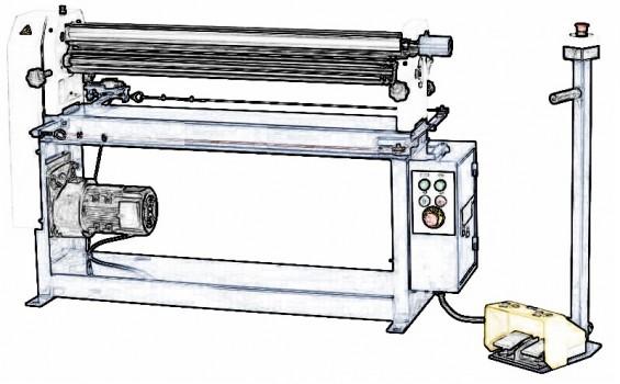 Masina de roluit tabla motorizata – structura si utilizare