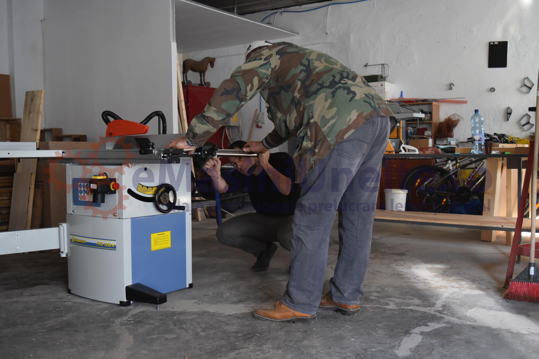 atelier masini prelucrare lemn - punere in functiune emasiniunelte.ro