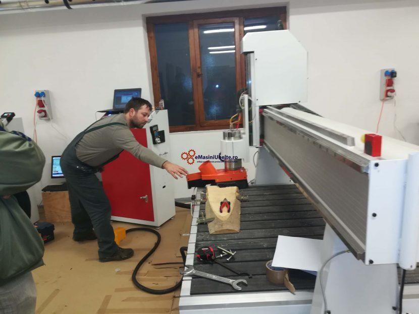 Punere in functiune masini unelte prelucrare lemn