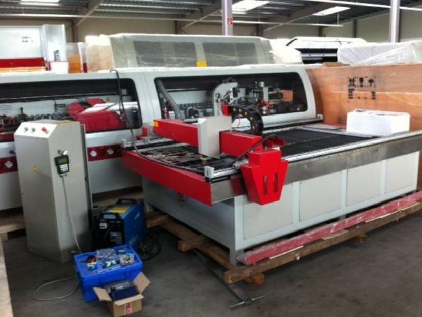 Masini de taiat CNC cu plasma – Proces de lucru